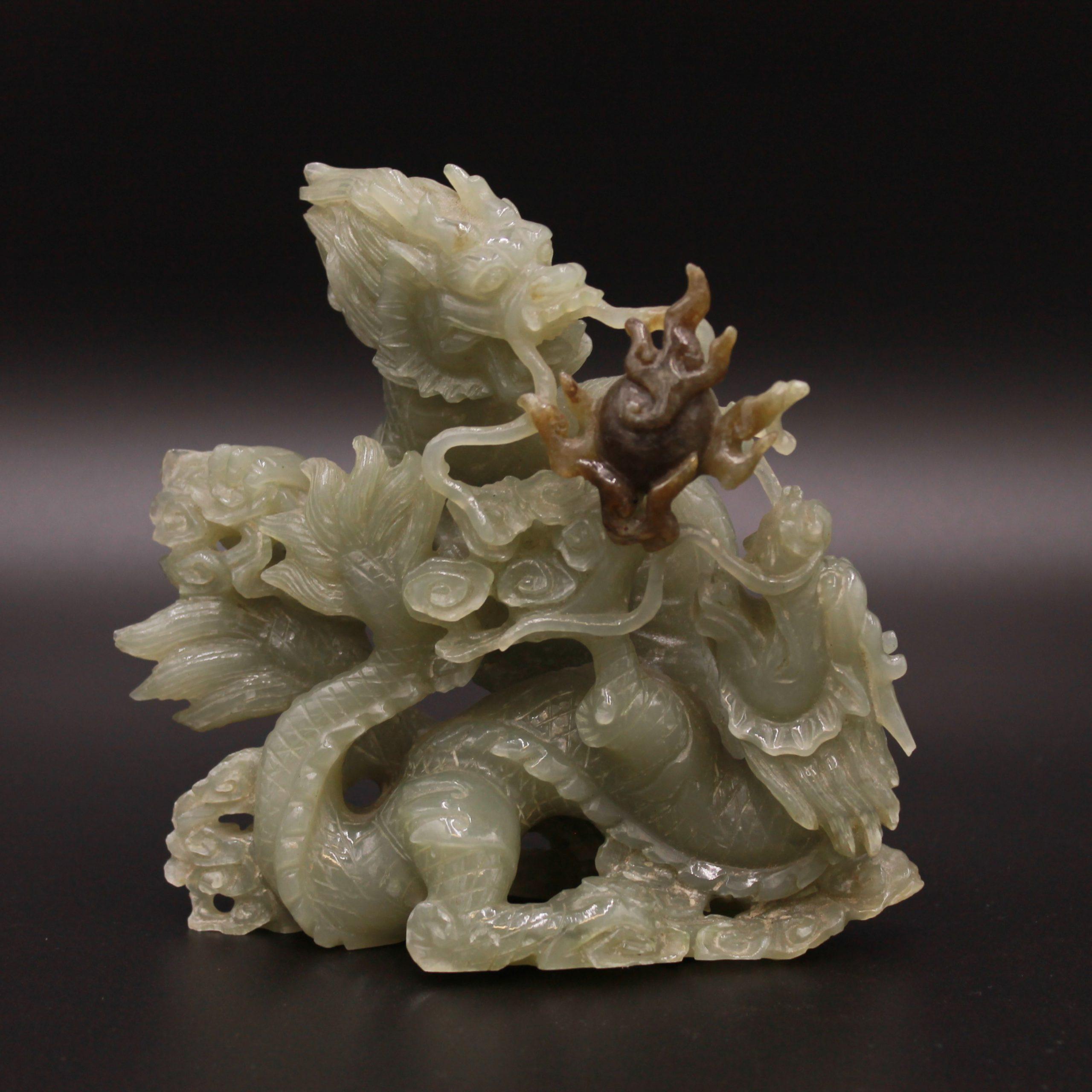 Sculpture en jade