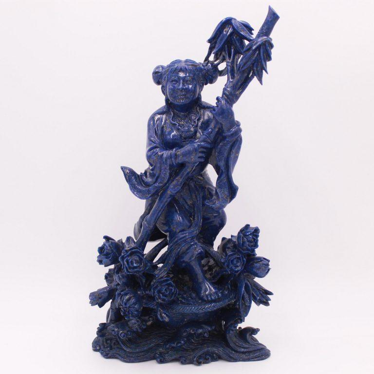 Sculpture en lapis lazuli Déesse
