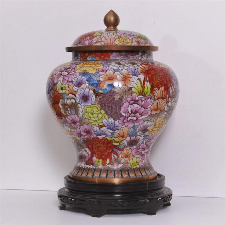 Cloisonné vase de Tresorient