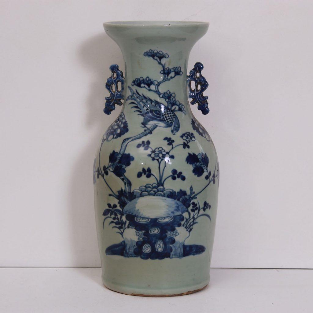 Vase en porcelaine de Chine de Tresorient